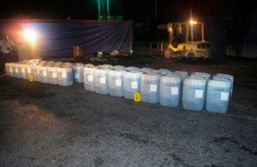 PGR asegura más de 25 mil litros de hidrocarburo en Veracruz