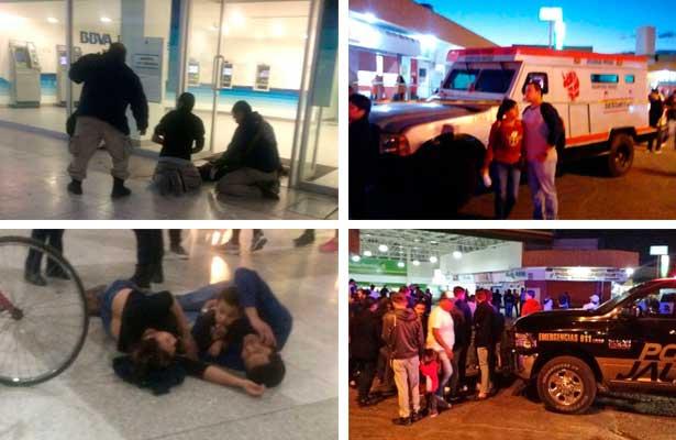 Sangre, terror y muerte deja intento de asalto a camioneta blindada en Guadalajara