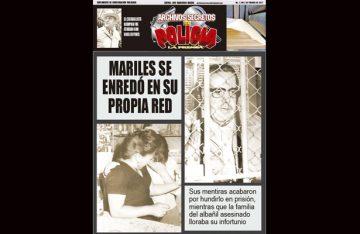 MARILES SE ENREDÓ EN SU PROPIA RED