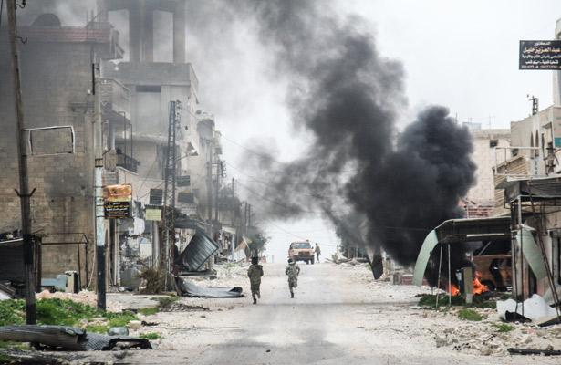 Mueren 49 ciudadanos Sirios por bombardeos rusos