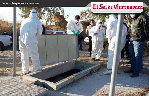 Recuperan 5 cuerpos en fosa clandestina de Xochitepec
