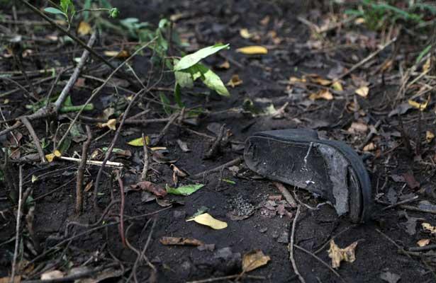 Extraen 47 cráneos de más fosas clandestinas en Veracruz