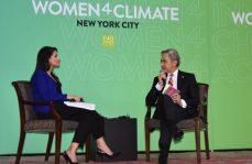 Miguel Mancera participa en cumbre Women4Climate