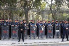 Presenta la SSP protocolo de actuación ante manifestaciones
