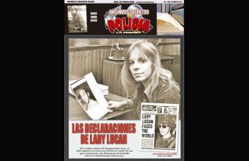 LAS DECLARACIONES DE LADY LUCAN
