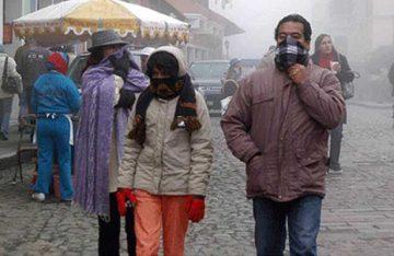 Frente frío No 10 provocará bajas temperaturas en la CDMX