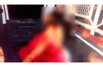 Balearon a pareja cuando intimaba a bordo de un taxi