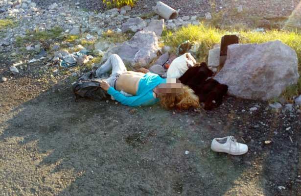 Encuentran cuerpo de una mujer en terreno baldío de Chalco