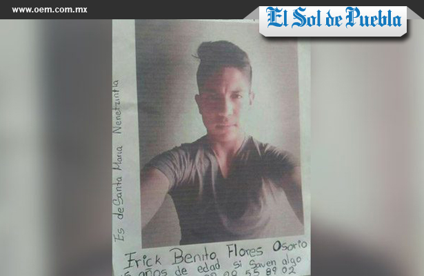 Quinceañera secuestra a su novio, en Puebla