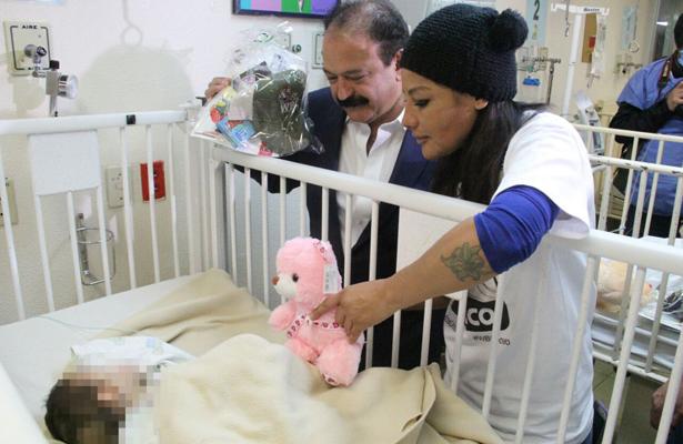 Accidentes en hogares principal causa de niños quemados: Armando Ahued