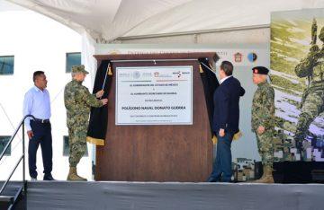 Gobierno del Edomex entrega a Semar centro de entrenamiento de la Armada de México