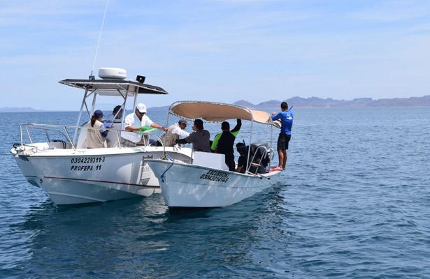 Profepa asegura 2 embarcaciones en BCS