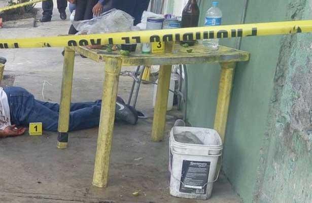 Lo asesinan de un disparo durante asalto en Nezahualcóyotl