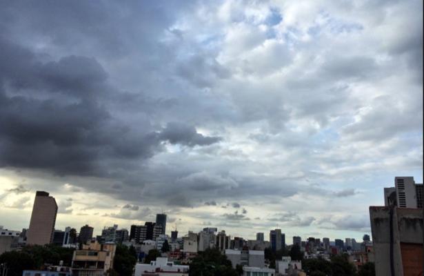 Ciudad de México registrará cielo medio nublado con potencial de lluvia