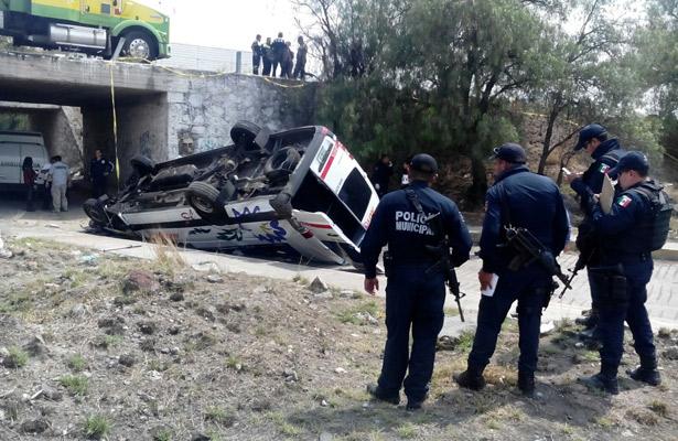 Tragico accidente de turistas en la México-Pirámides