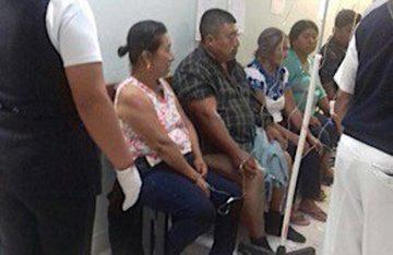 Deja 25 heridos explosión en feria de Chiapas