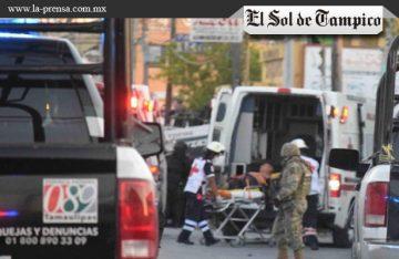 Muere oficial al volcarse patrulla en Tamaulipas