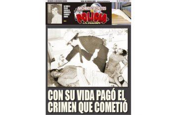 CON SU VIDA PAGÓ EL CRIMEN QUE COMETIÓ