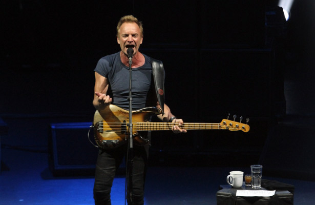 Sting conquista al Auditorio Nacional