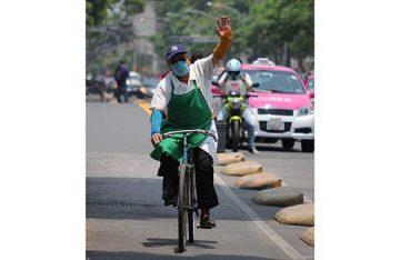 La bicicleta, transporte limpio, económico e inseguro