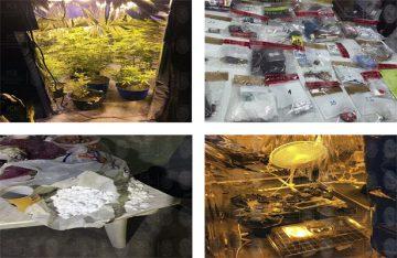 PGR detiene a 5 narcotraficantes y localiza laboratorio de droga, en Puebla