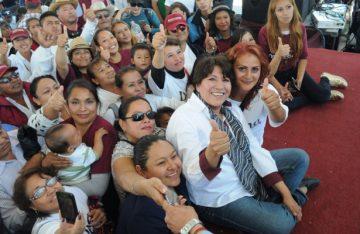 Mi gobierno será de propuestas ciudadanas: Delfina Gómez