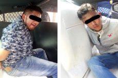 Son detenidos por robo de vehículo y portación de arma de fuego