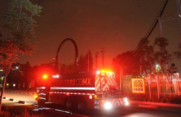 Se Incendia Juego Mecanico De La Feria De Chapultepec
