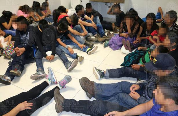 Agentes mexicanos interceptan a 112 migrantes extranjeros, incluyendo 4 bebés