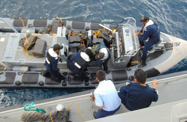 Aseguran 600 kilos de cocaína en costas de Chiapas