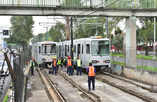 Abren carpeta de investigación por descarrilamientos de Tren Ligero
