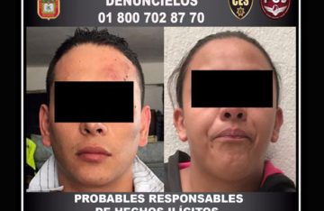 Detienen a 2 por presunta participaciónen robo de cuentahabientes, en Naucalpan
