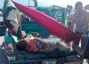 Explosión le arrancó extremidades en Acambay, Edo. Mex