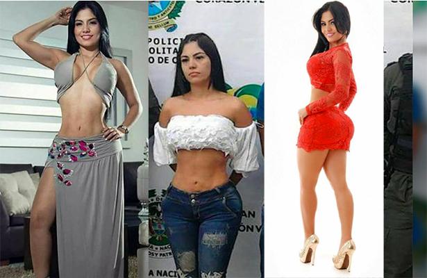 Bella modelo colombiana es acusada de secuestro