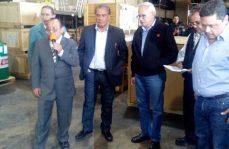 Entrega de refacciones al STC Metro