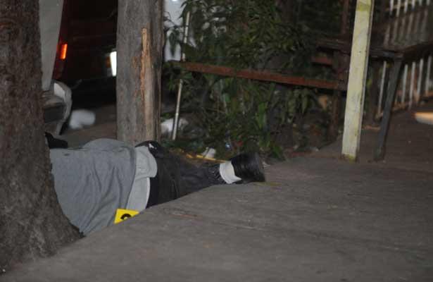 De dos tiros en la cara asesinan a joven en la Morelos