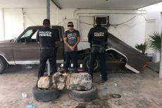Aseguran 60 litros de droga sintética en Sonora