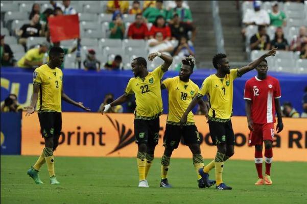 Jamaica gana 2-1 a Canadá y avanza a semifinales de la Copa Oro de la Concacaf