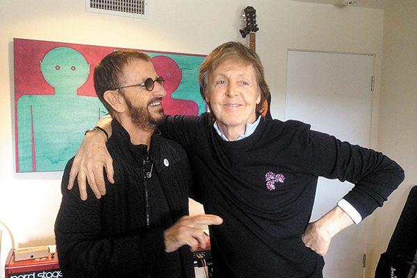 Paul y Ringo, juntos otra vez