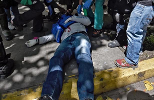 Muere hombre durante manifestación en medio de huelga general en Venezuela