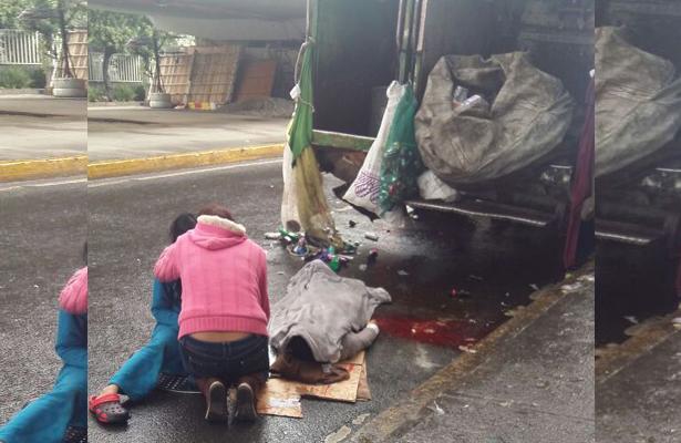 Muere atropellado trabajador de limpia en Iztapalapa