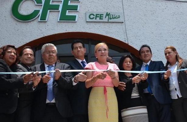 Le advierten a la alcaldesa de Atizapán que no solape a CFE