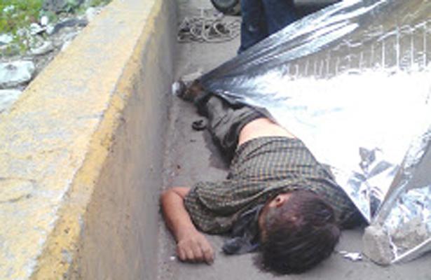 Cuerpo de un hombre fue hallado en el Canal de la Compañía, Chimalhuacán