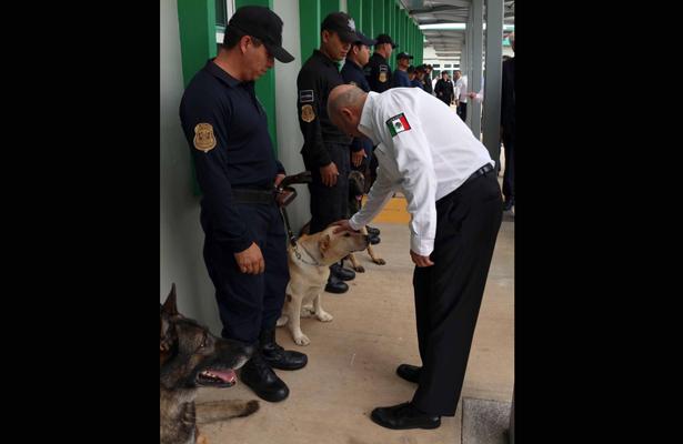 Manejo del binomio canino, trabajo preciso: CNS