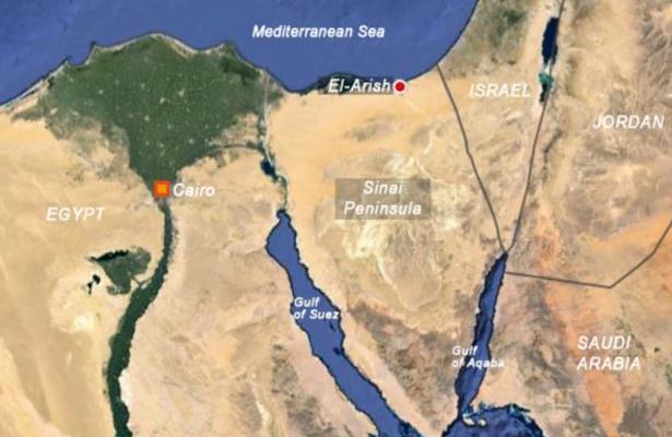 Nueve supuestos terroristas mueren en operaciones del ejército en el Sinaí