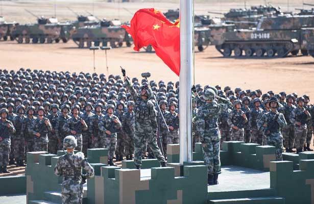 China celebra 90 años de su ejercito