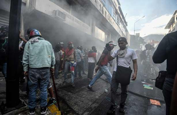 Venezuela viola el derecho a manifestarse: ONU