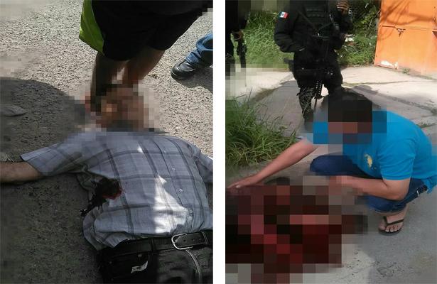 Dos personas fueron ejecutadas por civiles armados, en Tamaulipas