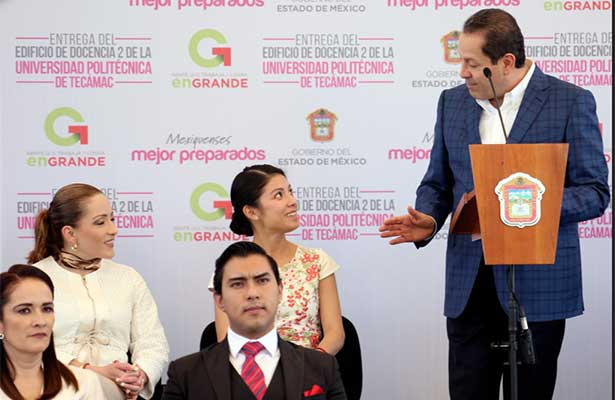 Se consolida Edoméx como el gobierno de la educación: Eruviel Ávila