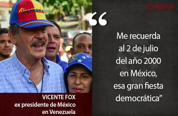 Lo dijo así Vicente Fox